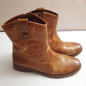 Vince Camuto Butterscotch Leather Boot